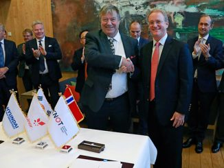 Time charter contracts for two newbuilt shuttle tankers – from left, Trygve Seglem, Knutsen OAS, and Alex Murray, Equinor ASA