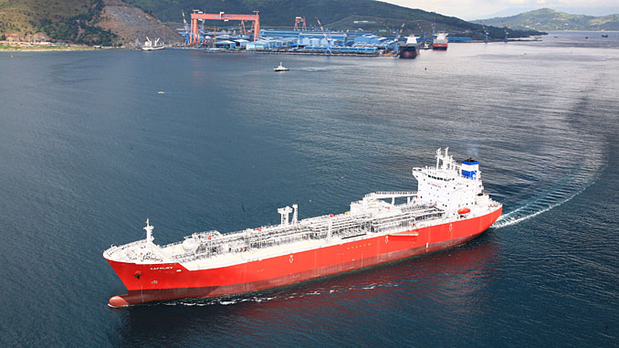 Exmar's new Very Large Gas Carriers will feature Wärtsilä technology that enables them to operate on LPG fuel