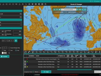ChartCo's OneOcean platform will now be integrated with MeteoGroup's weather routing solution