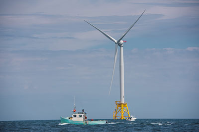 The United States' first offshore wind project – Deepwater Wind's Block Island Project off the coast of Rhode Island