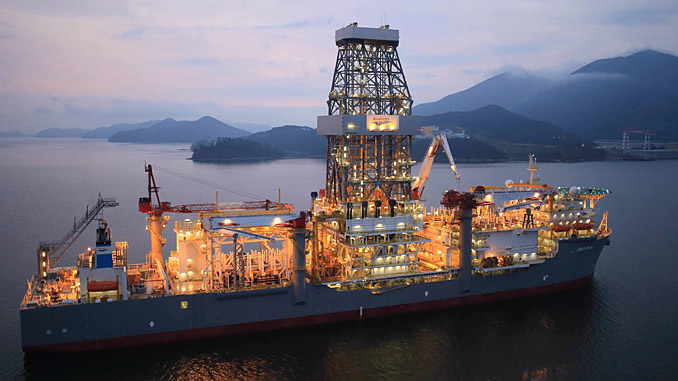 The 'Ensco DS 9' drillship (photo: Ensco plc)