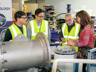 Visitors experienced a tour of Hydro Group's manufacturing facilities