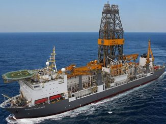 'Rowan Reliance', an R-Class ultra-deepwater drillship