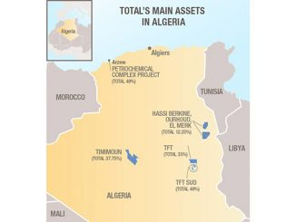 Total's exploration and production activities in Algeria date back to 1952