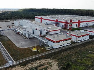 Total's state-of-the-art lubricants oil blending plant strategically located in the Kaluga region of the Russian Federation