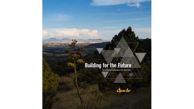 Apache Corporation has released its 2018 Sustainability Report