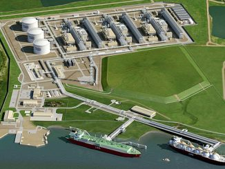 Corpus Christi Liquefaction Project in Texas, the first greenfield LNG facility in lower 48 states