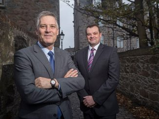 At left, Scott Kerr, CEO of Mintra Group and Gareth Gilbert, UK Managing Director, Mintra Group