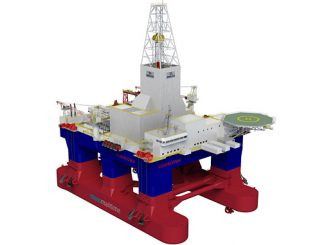 Moss CS60 Eco-type drilling rig