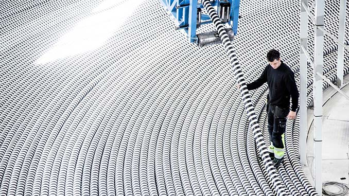 NKT manufactures and provides turn key of high-voltage cables globally