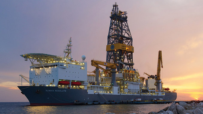'VALARIS DS-16' ('Resolute'), a GustoMSC P10,000 ultra-deepwater drillship