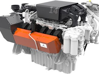 The high-speed, compact Wärtsilä 14 serves both as main propulsion and auxiliary genset and is ideal for hybrid installations
