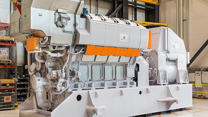 The Wärtsilä 31 is the first of a new generation of medium speed engines, designed to set a new benchmark in efficiency and overall emissions performance