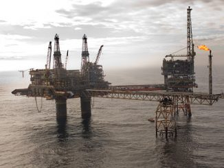 The Beryl Alpha platform is located 180 miles northeast of Aberdeen