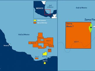 Block 7 in the Sureste Basin offshore Mexico