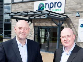 Enpro Subsea, managing director Ian Donald (left) and marketing director Tom Bryce