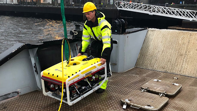 The Falcon will be deployed in support of deep tunnel operations at hydroelectric power plants