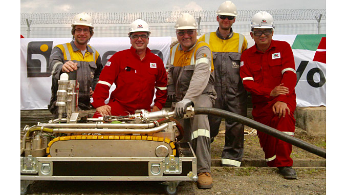 The Intero and Vopak team, along with OTIS500