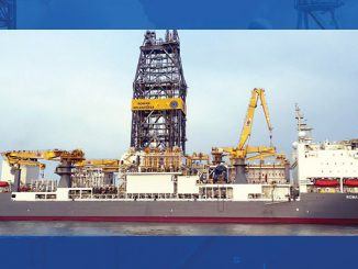 'Rowan Relentless', an R-Class ultra-deepwater drillship