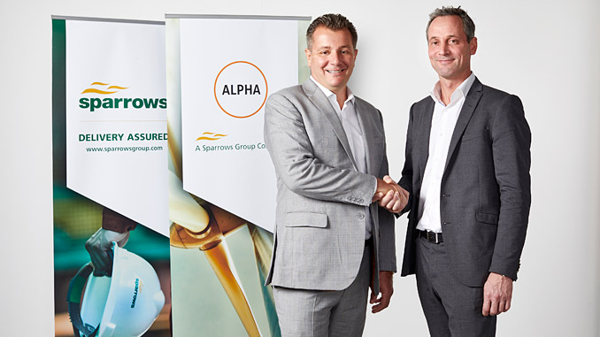 Stewart Mitchell, CEO of Sparrows Group, and Mikkel Lund, CEO at Alpha