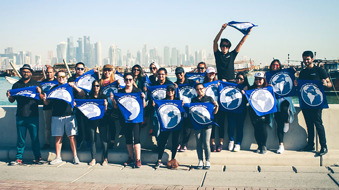 Each year, Airswift's team from its 60 global offices come together to raise funds and awareness for cancer care as part of its Relay for Life initiative