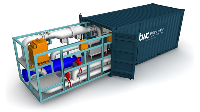 The ERMA FIRST FIT containerised solution