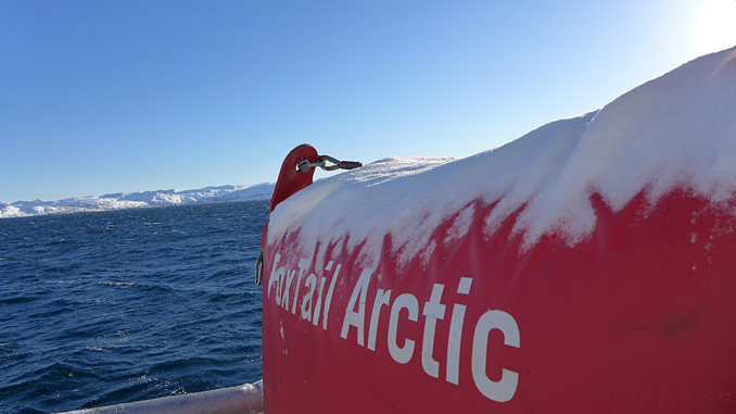 The Arctic FoxTail – a new winterised vertical adhesion band oil skimmer