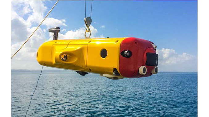 FlatFish is a resident subsea autonomous vehicle able to perform complex inspection tasks of subsea assets
