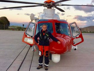 Captain Peter Collins is a pilot with HM Coastguard Search and Rescue (SAR), operated by Bristow Helicopters Ltd