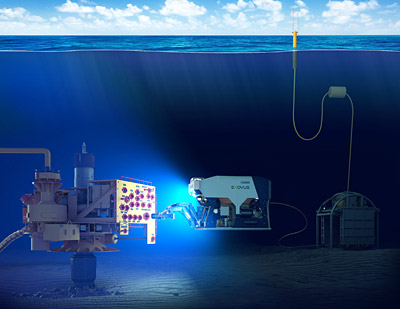 Oceaneering has launched a new battery-powered ROV – E-ROV – capable of operating for extended periods of time without having to be recovered to the surface