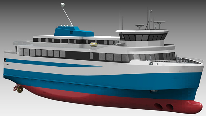 Iceland's first electric ferry
