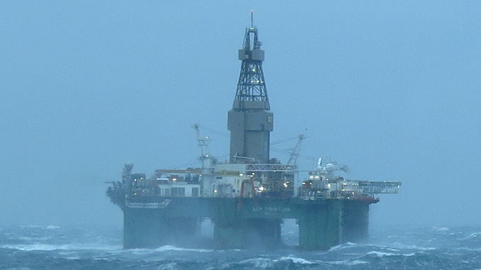 Leiv Eiriksson, a fifth-generation deep water semisubmersible drilling rig, BINGO 9000 Design