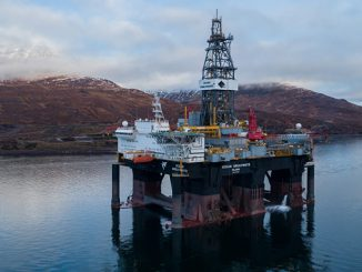 Semi-submersible drilling rig 'Ocean GreatWhite'