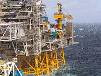 The Johan Sverdrup field in the North Sea (photo: Equinor ASA/Arne Reidar Mortensen)