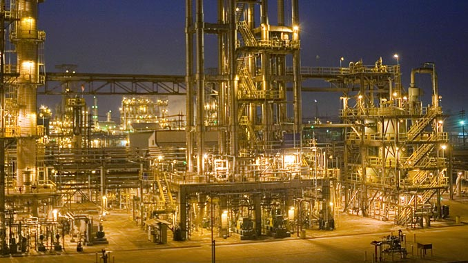 The Baton Rouge Chemical Plant manufactures approximately 6.7 billion pounds of petrochemical products annually