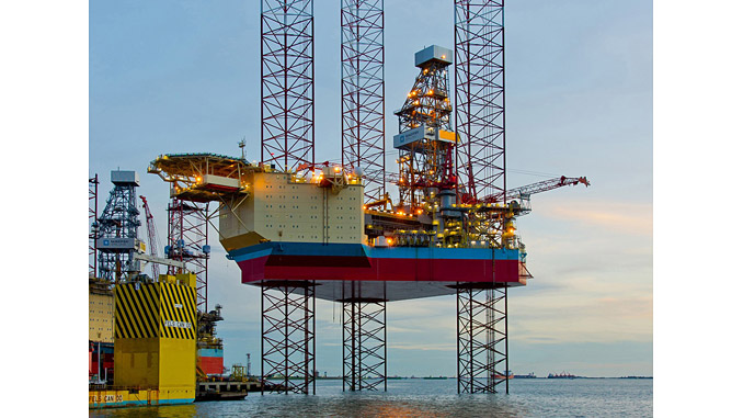 'Maersk Interceptor' is an ultra-harsh environment jack-up rig designed for year-round operation in the North Sea