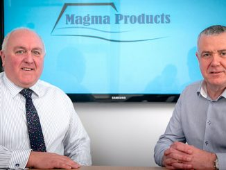 From left, Philip Tweedy, managing director of Magma Products, and Stephen Potts, the newly-appointed shutdown director at Aberdeen-based Magma Products
