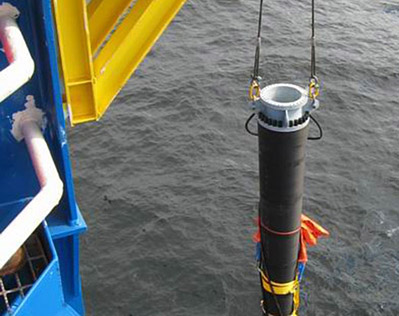 The SWILINE is a submarine flexible water intake hose for FLNG cooling applications