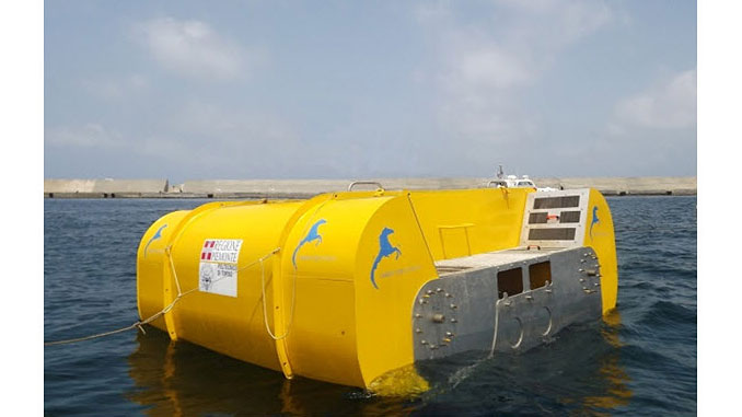 The Inertial Sea Wave Energy Converter – ISWEC