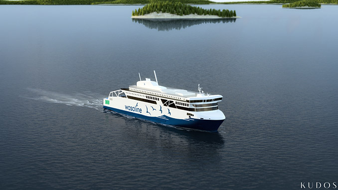 The new Wasaline ferry will feature Wärtsilä solutions that make it among the world's most efficient and eco-friendly vessels