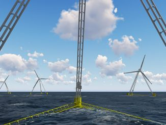 X1 Wind aims to make a step change in the weight and costs of floating wind, using a weathervaning downwind design and a single point mooring system – PivotBuoy®