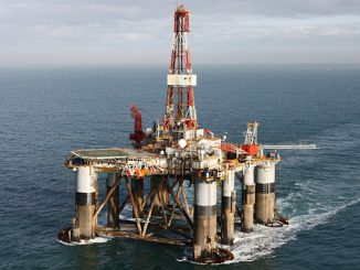 The 'Ocean Guardian' semi-submersible drilling unit