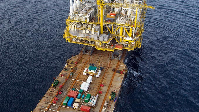 The Intermac 650 is the second-largest float-over installation vessel in the world