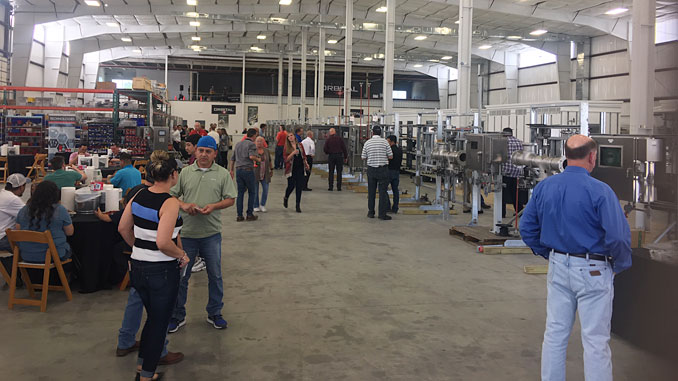 More than 150 attendees, including midstream and downstream end users and service companies, viewed featured technologies during the open house