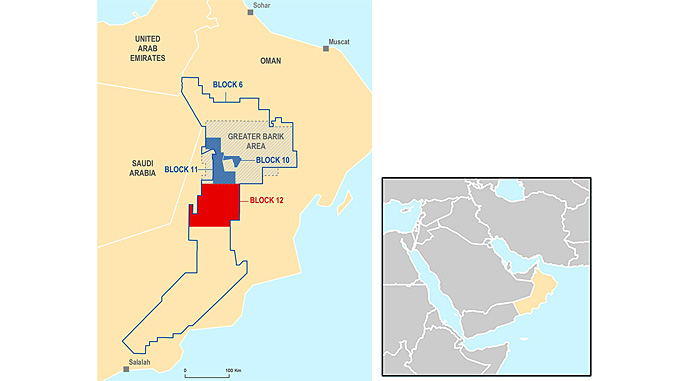 In Oman, Total holds 4% interest in the onshore Block 6 (operated by Petroleum Development Oman), as well as interest in Oman LNG (5.54%) and Qalhat LNG (2.04%)