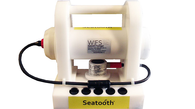 The Seatooth PipeLogger is an integrated pipeline, umbilical, risers and flowlines temperature monitoring and data transfer solution that can provide real-time monitoring for offshore and subsea assets