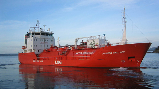 The new Knutsen OAS Shipping LNG vessel will feature an integrated package of Wärtsilä solutions
