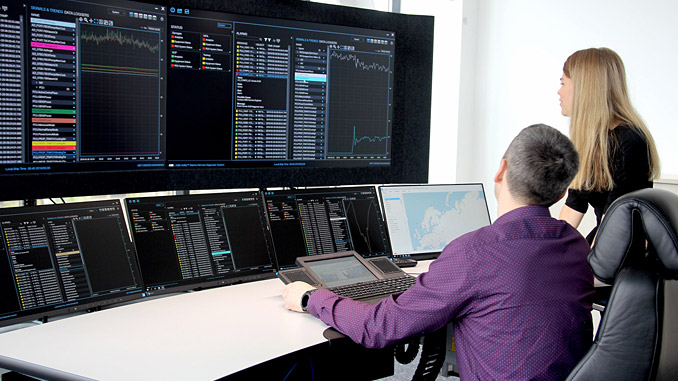 ABB Ability™ Collaborative Operations Center in Murmansk, Russia