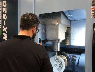 Matsuura's MX-520 5-axis CNC machining centre
