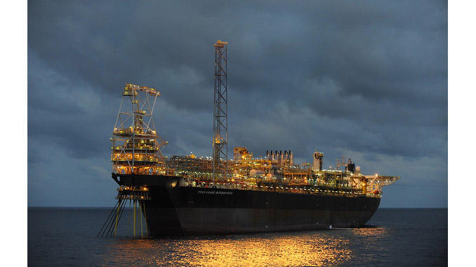 Anadarko's fields in offshore Ghana represented a gross production of 143 kb/d in 2018